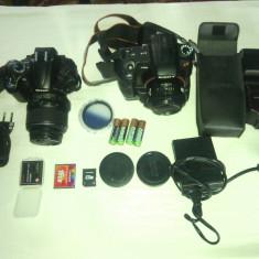 Nikon d5000 si Sony alpha 200 vand/schimb - DSLR Nikon, Kit (cu obiectiv), 12 Mpx, HD