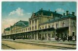 369 - ARAD, Railway Station - old postcard - used - 1915