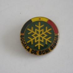 BISPO1 - SPORT - SINAIA - SCOALA DE SCHII SINAIA - Insigna