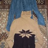 PULOVERE DAMA, Albastru, Maro