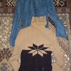 PULOVERE DAMA - Pulover dama, Marime: 38, 40, Culoare: Albastru, Maro