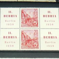 Bloc neuzat / nestampilat - ARTA - ISTORIE - Berlin - 1959 - GERMANIA - 2+1 gratis produse la pret fix - RBK4682 - Timbre straine, Europa