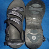 Incaltaminte barbati Sandale Merrell produs nou/marime 43, 45, Bleumarin