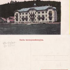 Vatra Dornei (Bucovina, Suceava)- Hotelul - Carte Postala Bucovina 1904-1918, Necirculata, Printata