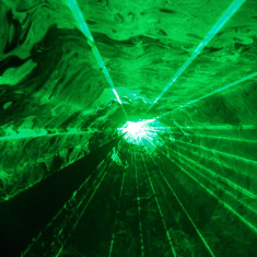 Laser verde 40mW NERHOR NE-66C - Laser lumini club