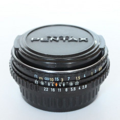 SMC Pentax-M 40mm F2.8 (Pancake) - Obiectiv DSLR Pentax, Standard, Manual focus, Pentax - K