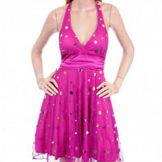 Rochie Hollywood Cireasa de Bal - Rochie banchet, Culoare: Roz, Marime: S, M, Scurta