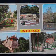 RPR - Intreg Postal - Arad - Carte Postala Crisana dupa 1918