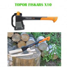 Topor Fiskars X10, lungime 44cm, greutate 980g
