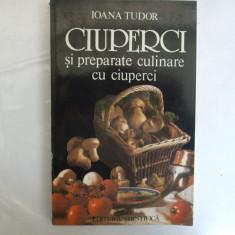 Ioana Tudor Ciuperci si preparate culinare din ciuperci Bucuresti 1996 - Carte Retete de post