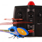 PROMOTIE! ELICOPTER AIR HOGS HAVOC STINGER VAZUT LA TV, SENZATIONALUL ELICOPTER INSECTA DE LA AIR HOGS. - Elicopter de jucarie air hogs, Alte materiale, Unisex