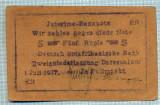 313 BANCNOTA  - GERMANIA COLONIE AFRICA DE EST - 5 RUPIEN - anul 1.07.1917 -SERIA 26636 -starea care se vede