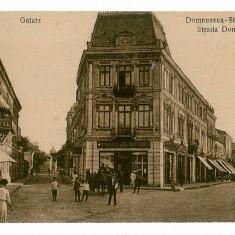 1699 - GALATI, strada Domneasca - old postcard - used