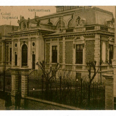 285 - GALATI - Banca Nationala - old postcard - used