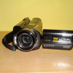 Camera video sony hdr-sr7, Hard Disk, 6-6.90 Mpx, CMOS, 2 - 3