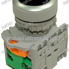 Comutator fara retinere, 2 contacte, negru-125041