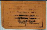 312 BANCNOTA  - GERMANIA COLONIE AFRICA DE EST - 5 RUPIEN - anul 1.07.1917 -SERIA 2692 -starea care se vede