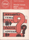 Exercitii lexicale pentru limba romana - Marica Pietreanu, Alta editura