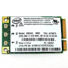 PLACA WIRELESS LAPTOP INTEL LINK 4965AGN MM2 MINI PCI