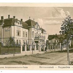184 - SIBIU, Comandamentul Armatei - old postcard, CENSOR - used - 1916