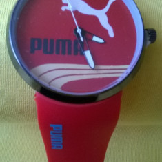 Ceas barbatesc PUMA, Fashion, Mecanic-Manual, Cauciuc, Nou