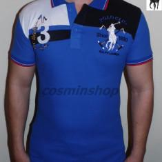 Tricouri POLO RALPH LAUREN - Albastru / Negru - Noua Colectie !!! - Tricou barbati, Marime: S, Maneca scurta, Bumbac