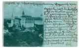 1458 - HUNEDOARA, Castelul Huniazilor, Litho - old postcard - used - 1898, Circulata, Printata