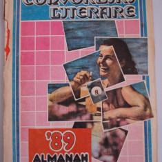 Almanah CONVORBIRI LITERARE -1989