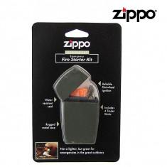 Zippo Green Matte Emergency Fire Starter 44004 Pornirea Focului in caz de urgenta