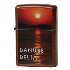 Bricheta Zippo 21184 CI013050 Romania Danube Delta - Bricheta Cu benzina
