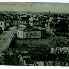 1616 - Dobrogea, Tulcea, SULINA, Panorama - old postcard - used - Carte Postala Dobrogea 1904-1918, Circulata, Printata