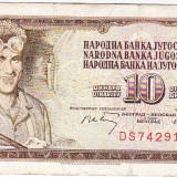 Serbia Yugoslavia, Iugoslavia, 10 dinari 1968
