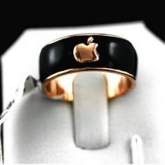 Inel Deosebit Apple Fabricat Manual Placat Aur 18K cu Livrare Gratuita - Inel placate cu aur