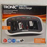 NOU !!!  Tronic Battery Charger Ni-MH Ni-Cd Rechargeable batteries Sigilat!!!