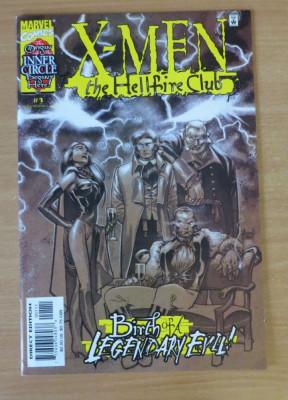 X-Men Hellfire Club #1 Marvel Comics foto