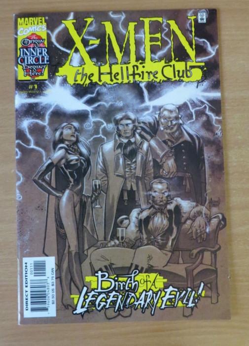 X-Men Hellfire Club #1 Marvel Comics foto mare