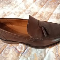 vand pantofi din piele marca massimo dutti