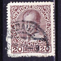 Timbre MONARHIA AUSTRO-UNGARA 1867-1908 = CIRCULATE IN