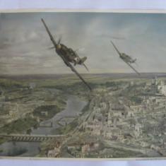 FOTO AVIOANE MILITARE GERMANE WWII MESSERSCHMITT 109 - Fotografie veche