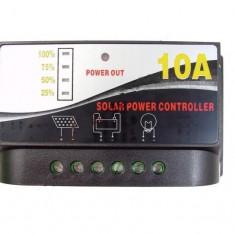 Regulator incarcare 10A 12v panouri solare functie iluminat becuri 10 A