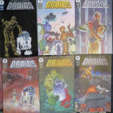Star Wars Droids - Dark Horse Comics (seria completa, 1-6) - Reviste benzi desenate Altele