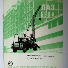 Brosura tehnica autocamion-macara DAC 690 A (pentru export)