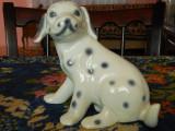 Statueta veche si frumoasa, BIBELOU de portelan pentru iubitorii de caini, reprezinta un dalmatian!