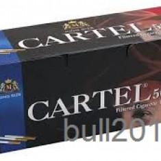 TUBURI CARTEL 500 tuburi, filtre tigari / cutie, pentru injectat tutun, tigari - Foite tigari