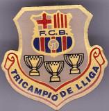 Insigna fotbal FC BARCELONA