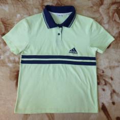 Tricou Adidas; marime M: 46 cm bust, 52 cm lungime, 40.5 cm intre umeri; bumbac - Tricou barbati Adidas, Marime: M, Culoare: Din imagine, Maneca scurta