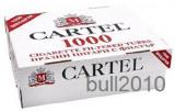 TUBURI CARTEL 1000 tuburi, filtre tigari/ cutie, pentru injectat tutun, tigari