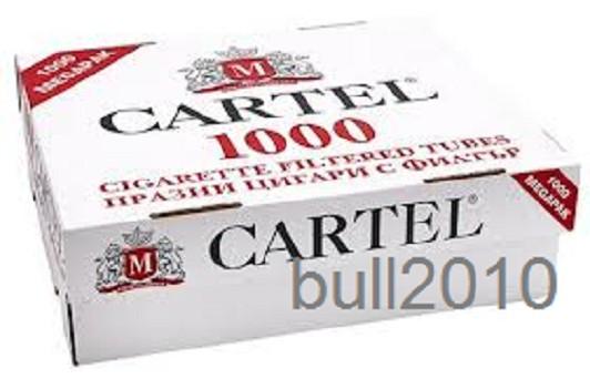 TUBURI CARTEL 1000 tuburi, filtre tigari/ cutie, pentru injectat tutun, tigari foto mare