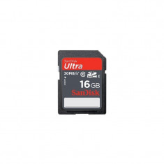 Card memorie SanDisk SDHC Ultra 16GB Clasa 10 - SIGILAT - Card Compact Flash