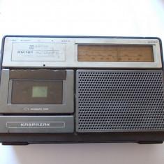 RADIO CASETOFON  UNITRA  RM121 AUTOMATIC .
